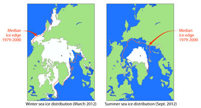 LifeLinkedtoIce Sea ice distribution